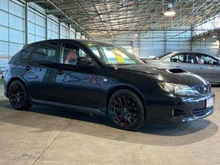 2007 Subaru Impreza G3 MY08 WRX AWD Black 5 Speed Manual Hatchback.