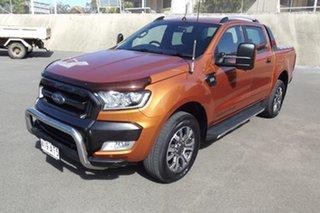 2015 Ford Ranger PX MkII Wildtrak Double Cab Gold 6 Speed Sports Automatic Utility.