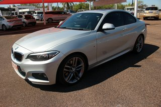 2014 BMW 2 F22 220d M Sport Premium Silver 8 Speed Automatic Coupe.