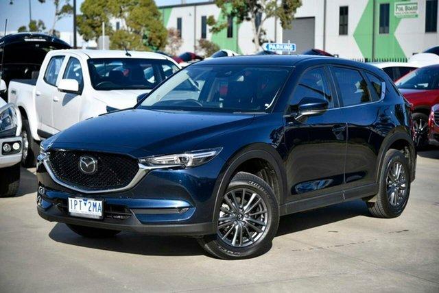 Used Mazda CX-5 KF4WLA Touring SKYACTIV-Drive i-ACTIV AWD Pakenham, 2019 Mazda CX-5 KF4WLA Touring SKYACTIV-Drive i-ACTIV AWD Blue 6 Speed Sports Automatic Wagon