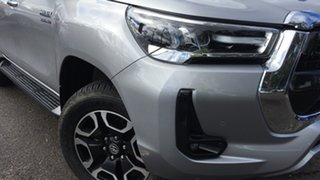 2020 Toyota Hilux GUN126R SR5 Double Cab Silver 6 Speed Sports Automatic Utility.