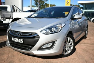 2014 Hyundai i30 GD MY14 Active Silver 6 Speed Manual Hatchback.