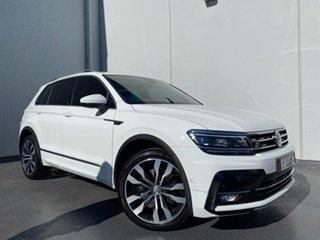 2018 Volkswagen Tiguan 5N MY18 162TSI DSG 4MOTION Highline White 7 Speed.