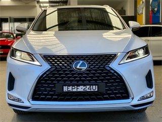 2020 Lexus RX AGL20R RX300 Luxury White Sports Automatic Wagon.