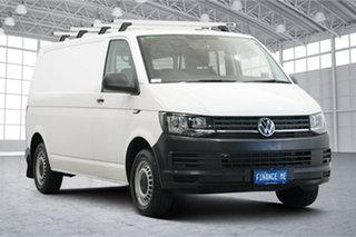 2017 Volkswagen Transporter T6 MY17 TDI340 SWB DSG White 7 Speed Sports Automatic Dual Clutch Van.