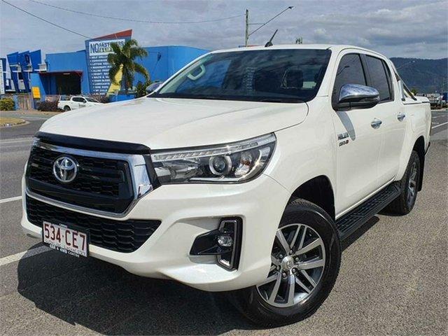 Used Toyota Hilux GUN126R SR5 Double Cab Bungalow, 2018 Toyota Hilux GUN126R SR5 Double Cab White 6 Speed Sports Automatic Utility