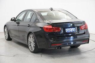 2017 BMW 3 Series F30 LCI 330e M Sport Black 8 Speed Sports Automatic Sedan Hybrid.
