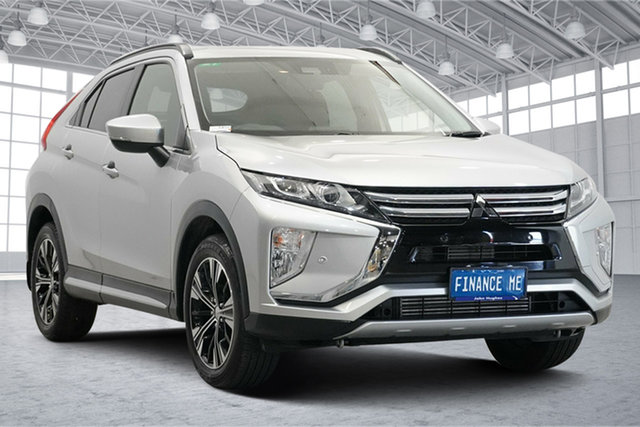 Used Mitsubishi Eclipse Cross YA MY18 LS 2WD Victoria Park, 2018 Mitsubishi Eclipse Cross YA MY18 LS 2WD Sterling Silver 8 Speed Constant Variable Wagon