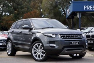 2015 Land Rover Range Rover Evoque L538 MY15 SD4 Pure Tech Grey 9 Speed Sports Automatic Wagon