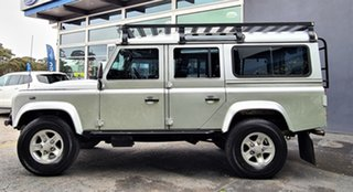 2012 Land Rover Defender 110 12MY Silver 6 Speed Manual Wagon