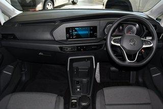 2021 Volkswagen Caddy SKN MY21 TDI320 Cargo Crewvan LWB DSG Reflex Silver 7 Speed.