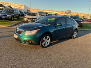 2013 Holden Cruze JH MY13 CD Equipe Turquoise 6 Speed Automatic Hatchback.