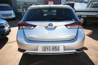 2017 Toyota Corolla ZWE186R MY16 Hybrid Silver Continuous Variable Hatchback