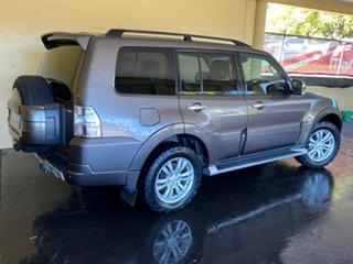 2012 Mitsubishi Pajero NW MY12 Exceed LWB (4x4) Bronze 5 Speed Auto Sports Mode Wagon.
