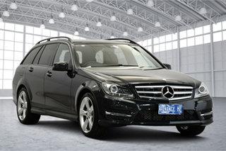 2014 Mercedes-Benz C-Class W204 MY14 C200 Estate 7G-Tronic + Grey 7 Speed Sports Automatic Wagon.