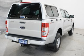 2017 Ford Ranger PX MkII XL Hi-Rider Ingot Silver 6 Speed Sports Automatic Utility