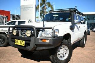 2011 Nissan Patrol GU VII DX (4x4) White 4 Speed Automatic Wagon.