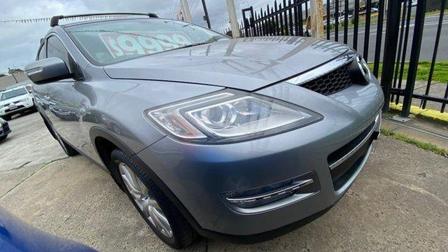 Used Mazda CX-9 TB10A3 MY10 Luxury Maidstone, 2009 Mazda CX-9 TB10A3 MY10 Luxury Grey 6 Speed Sports Automatic Wagon