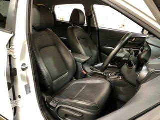 2017 Hyundai Kona OS MY18 Elite D-CT AWD White 7 Speed Sports Automatic Dual Clutch Wagon