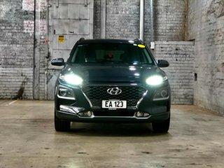 2020 Hyundai Kona Os.v4 MY21 Highlander 2WD Grey 8 Speed Constant Variable Wagon.