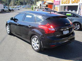 2012 Ford Focus LW Ambiente Black 6 Speed Automatic Hatchback.