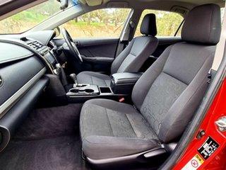 2013 Toyota Camry ASV50R Atara S Red 6 Speed Sports Automatic Sedan