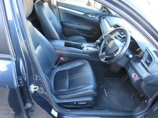 2016 Honda Civic MY16 VTi-LX Blue Continuous Variable Sedan