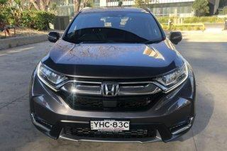 2017 Honda CR-V MY18 VTi-LX (AWD) Grey Continuous Variable Wagon