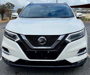 2020 Nissan Qashqai J11 SERIES 3 MY Ti X-tronic Ivory Pearl Continuous Variable Transmission Wagon.