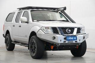 2014 Nissan Navara D40 S9 Silverline SE Silver 6 Speed Manual Utility