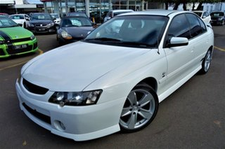 2004 Holden Commodore VY II SS White 4 Speed Automatic Sedan.