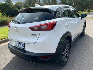 2017 Mazda CX-3 DK STOURING White Sports Automatic Wagon.