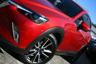 2016 Mazda CX-3 DK S Touring (FWD) Red 6 Speed Automatic Wagon.