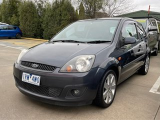 2007 Ford Fiesta WQ Zetec Grey 4 Speed Automatic Hatchback.