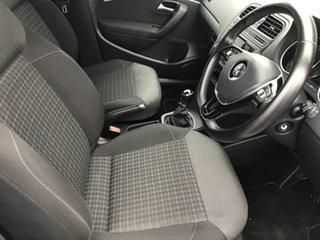 2016 Volkswagen Polo 6R MY16 81TSI Comfortline White 6 Speed Manual Hatchback