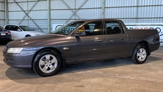 2007 Holden Crewman VZ MY06 Charcoal 4 Speed Automatic Utility.