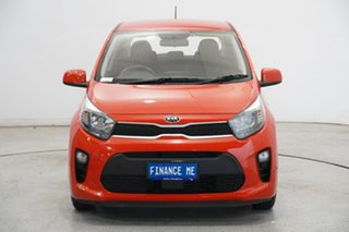 2018 Kia Picanto JA MY18 S Signal Red 4 Speed Automatic Hatchback.