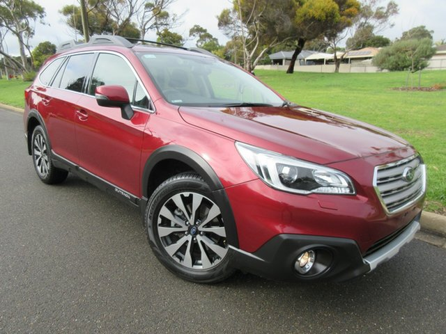 Used Subaru Outback B6A MY16 2.5i CVT AWD Premium Reynella, 2016 Subaru Outback B6A MY16 2.5i CVT AWD Premium Red 6 Speed Constant Variable Wagon