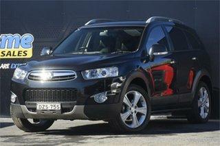 2011 Holden Captiva CG Series II 7 AWD LX Black 6 Speed Sports Automatic Wagon.