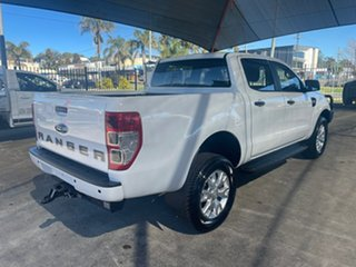 2017 Ford Ranger PX MkII MY18 XL 3.2 Plus (4x4) White 6 Speed Automatic Crew Cab Utility.