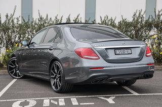 2017 Mercedes-Benz E-Class W213 808MY E43 AMG 9G-Tronic PLUS 4MATIC Selenite Grey 9 Speed.