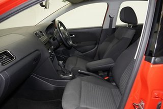 2011 Volkswagen Polo 6R MY11 77TSI DSG Comfortline Red 7 Speed Sports Automatic Dual Clutch