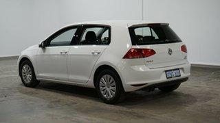 2014 Volkswagen Golf VII MY14 90TSI White 6 Speed Manual Hatchback.