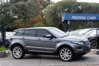 2015 Land Rover Range Rover Evoque L538 MY15 SD4 Pure Tech Grey 9 Speed Sports Automatic Wagon.