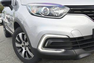 2018 Renault Captur J87 Zen EDC Grey 6 Speed Sports Automatic Dual Clutch Hatchback.