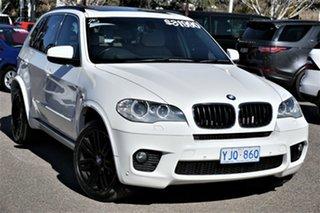 2013 BMW X5 E70 MY1112 xDrive40d Steptronic Sport White 8 Speed Sports Automatic Wagon.