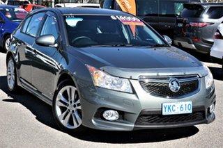 2014 Holden Cruze JH Series II MY14 SRi Z Series Grey 6 Speed Sports Automatic Hatchback.