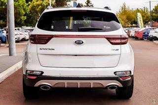 2021 Kia Sportage QL MY21 GT-Line AWD White 6 Speed Sports Automatic Wagon.