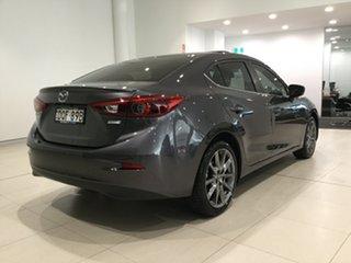 2017 Mazda 3 BN5238 SP25 SKYACTIV-Drive Astina Machine Grey 6 Speed Sports Automatic Sedan.