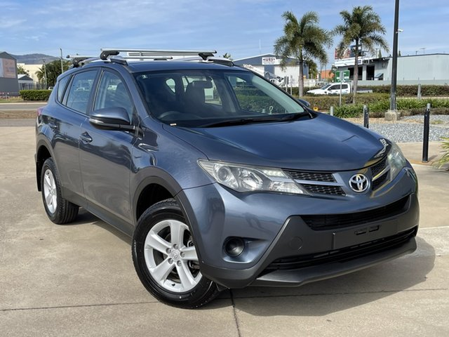 Used Toyota RAV4 ZSA42R GX 2WD Townsville, 2013 Toyota RAV4 ZSA42R GX 2WD Blue/260613 7 Speed Constant Variable Wagon